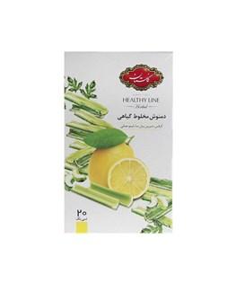 دمنوش مخلوط گیاهی کیسه ای لیمو و کرفس گلستان 20 عددی