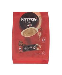 پودر قهوه 3 در 1 کلاسیک بسته 20 عددی