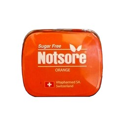 قرص خوشبو کننده دهان ناتسور با طعم پرتقال 14 گرمی