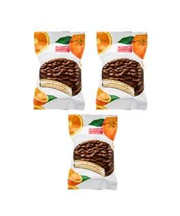بیسکویت روکشدار پرتقالی شیرین عسل 25 گرمی بسته 60 عددی