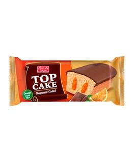 تاپ کیک مغز دار پرتقالی با روکش کاکائو شیرین عسل 60 گرمی