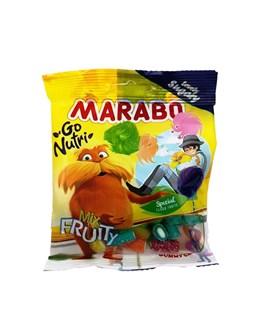 پاستیل لقمه ای شکری میوه ای مارابو 50 گرمی