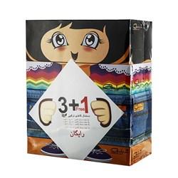 دستمال کاغذی ترکیبی گلپر طرح عروسک 4 عددی