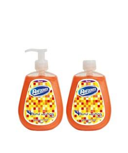 پک دو عددی مایع دستشویی نارنجی رافونه 300 میلی لیتری