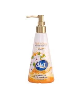 مایع دستشویی کرمی با رایحه شیر و عسل اوه 400 گرمی