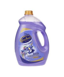 مایع دستشویی گلیسیرینه گل سنگ با رایحه شکوفه بهاری 3750 گرمی