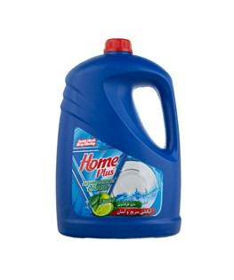 مایع ظرفشویی هوم پلاس با رایحه لیمو 3750 گرمی