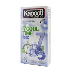 کاندوم سردکننده خاردار و شیاردار  COOL TIME کاپوت 12 عددی