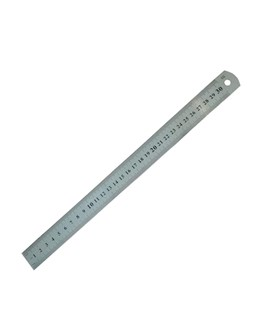 خط کش فلزی 30 سانتی متری کد88