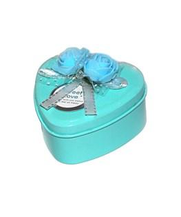 جعبه هدیه فلزی طرح قلب کد 03