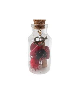 بطری دکوری طرح کپسول عشق کد L3