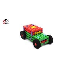 بازی ساختنی مگامیل طرح ماشین 42 قطعه ای