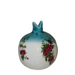 انار سرامیکی مدل گل سرخی سایز کوچک