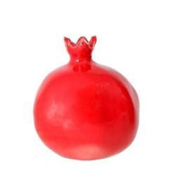 انار قرمز سرامیکی سایز متوسط کد 04
