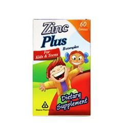 کپسول مخصوص کودکان زینک پلاس ب کمپلکس 60 عددی