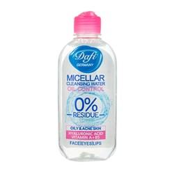 محلول پاک کننده آرایش صورت دافی 200 میلی لیتری
