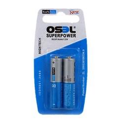 باتری نیم قلمی اوسل بسته دو عددی