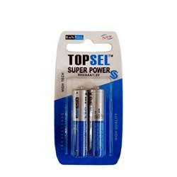 باتری قلمی تاپ سل مدل سوپر پاور بسته 2 عددی