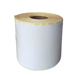 لیبل کاغذی 90 × 160 تک ردیفه رول 400 عددی