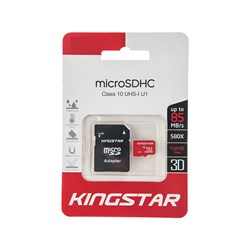 کارت حافظه کینگ استار 16 گیگابایت کلاس 10 سرعت 85MB/s
