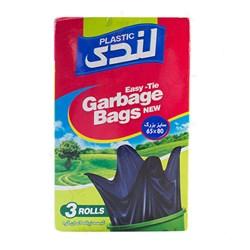 کیسه زباله رولی آسان گره لندی سایز بزرگ 3 عددی