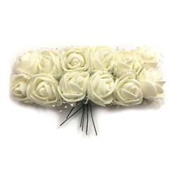 گل تزیینی فومی مدل توردار