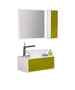 ست آینه و باکس و کابینت روشویی برتا مدل L03