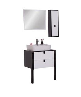 ست آینه و باکس و کابینت روشویی برتا مدل L04