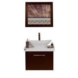 ست آینه و کابینت روشویی برتا مدل L01