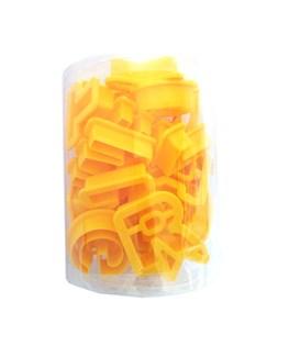 کاتر پلاستیکی طرح حروف لاتین  کد C1022