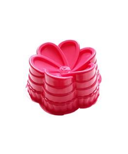 قالب ژله پلاستیکی طرح گل کد 5140