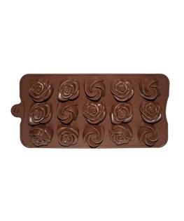 قالب شکلات سیلیکونی طرح گل کد 3131