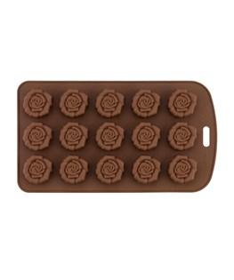 قالب شکلات سیلیکونی طرح گل رز کد 3130