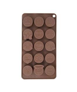 قالب شکلات سیلیکونی طرح ایموجی کد 3132