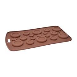 قالب شکلات و پاستیل سیلیکونی طرح دکمه کد 1131