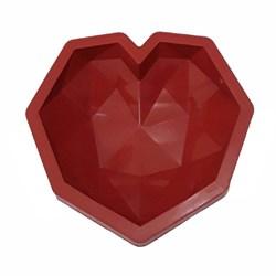 قالب ژله سیلیکونی طرح قلب تکی سوپرایز کد 1154