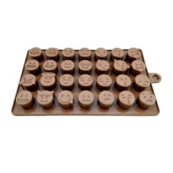 قالب شکلات سیلیکونی طرح ایموجی کد 3144