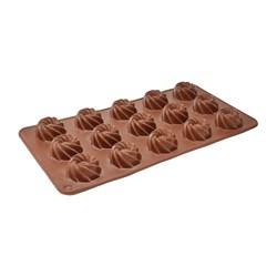 قالب شکلات و پاستیل سیلیکونی طرح پیچک کد 1132