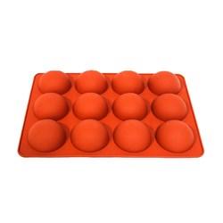 قالب شکلات و پاستیل سیلیکونی طرح نیمکره قطر 8 سانتی متری