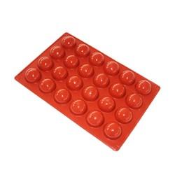 قالب شکلات و پاستیل سیلیکونی طرح نیمکره قطر 4 سانتی متری