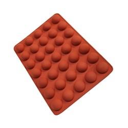 قالب شکلات و پاستیل سیلیکونی طرح نیمکره قطر 3 سانتی متری