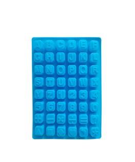 قالب شکلات سیلیکونی طرح حروف و اعداد انگلیسی کد 3137