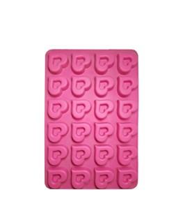 قالب شکلات سیلیکونی طرح قلب کد 3140