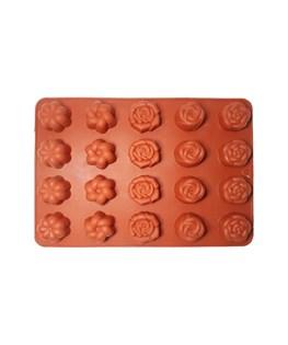 قالب شکلات سیلیکونی طرح گل کد 3136