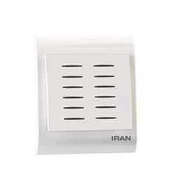کلید زنگ دینگ دانگ ایران الکتریک مدل ایران