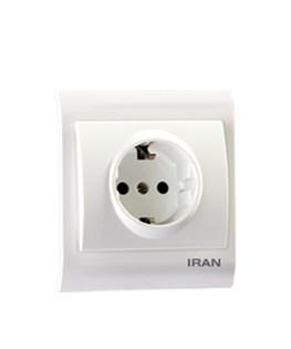پریز برق ارتدار ایران الکتریک مدل ایران