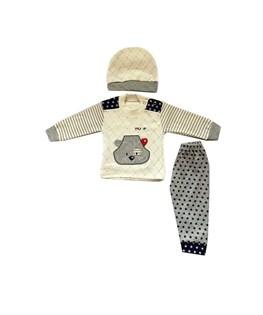 ست لباس نوزادی مدل پوپ