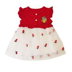 پیراهن نوزادی دخترانه کد DG201