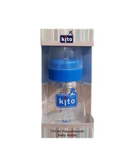 شیشه شیر متوسط کیتو ظرفیت 120 میلی لیتری