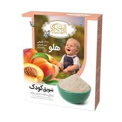 سویق کودک با طعم هلو ایران گیاه 200 گرمی